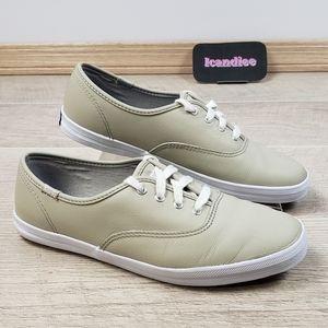 Womens Keds Tan Beige Sneakers Shoes Sz 6.5